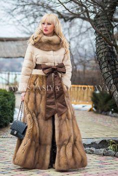 Fur Fashion, Winter Fashion, Sable Coat, Mink Jacket, Fox Coat, Vintage Fur, Cute Jackets, Latest Fashion Clothes, Mantel