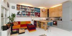 Se hvordan arkitekten selv har utnyttet plassen maksimalt i den lille leiligheten sin i Oslo.