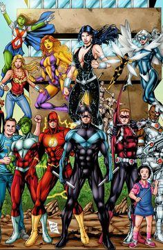 Superheros Titans