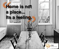 """""""Home is not a place... it's a feeling"""""""