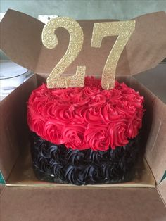 Rosette cake 24 Birthday, Birthday Cakes, Birthday Gifts, Happy Birthday To Me Quotes, Birthday Girl Pictures, Rosette Cake, Dinner Party Recipes, Love Stars, Cute Summer Outfits