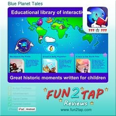 Blue Planet Tales - Interesting insights into history. Full review at: http://fun2tap.com/index.cfm#id2466 --------------------------------------------- #apps #iosApps #iPad #iPhone #games