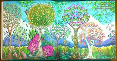 Enchanted Forest: Stages in Colouring the Day Forest. :) – La Artistino – Peta Hewitt http://la-artistino.com/2016/01/22/enchanted-forest-stages-in-colouring-the-day-forest/