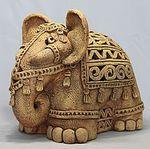 Розовый слон керамика - Ярмарка Мастеров - ручная работа, handmade