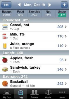 Lose It by FitNow: iPhone App with bar code scanning. #iPhone_App #Diet #Weight_Loss