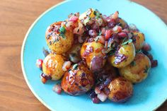 Jersey Royals, Pancetta & Maple syrup