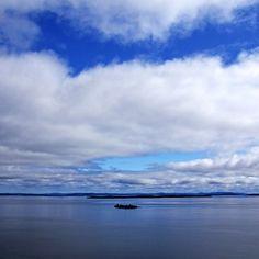 Into The Blue - Manitoulin Island Georgian bay Ontario Canada #art #photography #blue #blues #nature