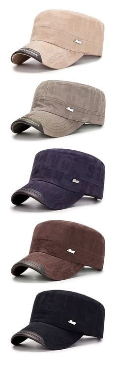 2147423be0ad91 Mens Cotton Outdoors Sunshade Baseball Cap Letter Flat Service Fashion Hat  Winter Windproof Duck Hat is hot sale on Newchic.
