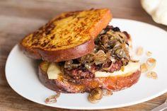 "Monte ""Kristy"" Sandwich with Homemade Pumpkin Bread"