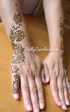 henna hand tattoo design, michigan henna artist