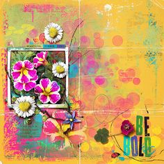 Be Bold | The Lilypad All by Rachel Jefferies - Pastures Green and I See You Template