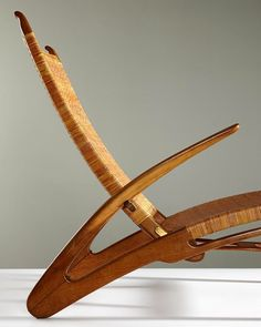 """""""1950. #HansWegner, 'Dolphin' folding armchair, one of only 4 known extant examples. @phillipsauction"""""""