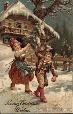 Loving Christmas Wishes Children