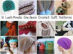 one skein crochet patterns