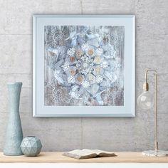 Cranes Mandala, Canvas Art Print By Oriental Wind, Great Wall Decor For  Minimalist Ethnic Interior