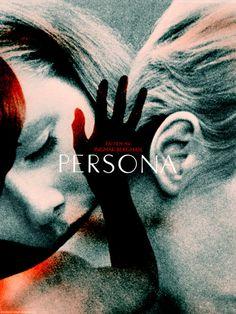 Persona. Starring Liv Ullman & Bibi Andersson. Directed by Ingmar Bergman.
