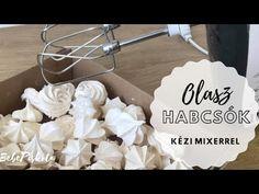 Olasz (szirupos) habcsók KÉZI mixerrel - mindig sikerül! 😍👍- BebePiskóta - YouTube Minion, Icing, Desserts, Youtube, Food, Tailgate Desserts, Deserts, Essen, Minions