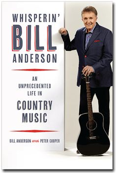 The autobiography documents his life story from small town Commerce, GA where he worked in journalism and graduated from UGA, to the big city lights of Nashville – to becoming a member of the Country Music Hall of Fame and 50-year member of the Grand Ole Opry. By: Bill Anderson (ABJ '59)
