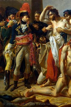 Napoleon and Plague Victims Napoleon Complex, Napoleon French, French History, Art History, Napoleon Quotes, First French Empire, Classic Paintings, French Revolution, Napoleonic Wars