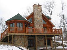 Twinlake Log Floor Plan | Log Cabin 1403 sq. ft › Expedition Log Homes, LLC