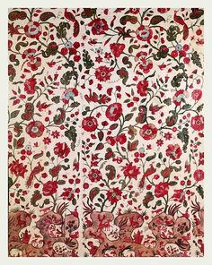 Love these vintage textiles from Victoria and Albert Museum in London. I would like this in a scarf.