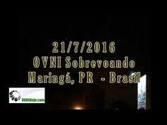 OVNI / UFO é filmado em Maringá, PR - Brasil - OVNI Hoje! : OVNI Hoje!