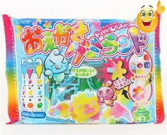 DIY set #Gummy Land for making colourful gummy candy from Japan