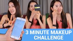 3 Minute Makeup Challenge with Eunice! by WishtrendTV  #makeup #wishtrend #wishtrendtv #youtube #challenge #cosmetic