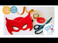 Owlette Mask - Mascherina di Gufetta - TUTORIAL - YouTube