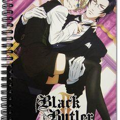 black butler notebook | Black Butler 2 Group Notebook