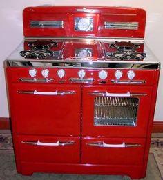 Ideas For Kitchen Retro Red Appliances
