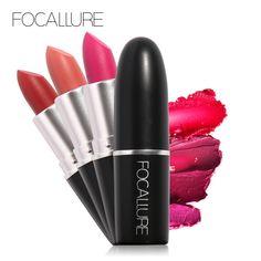 Focallure 18 Colors Matte Lipstick Moisturizing Lip stick waterproof matte Tint Paint lipstick  cosmetic #Affiliate