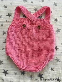 Extreme Cute Knitted Baby Rompers – Knitting And We Baby Knitting Patterns, How To Start Knitting, Knitting For Kids, Baby Overalls, Baby Pullover, Knitted Baby Clothes, Boy Blankets, Baby Vest, Baby Sweaters