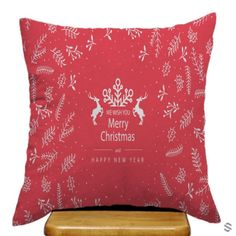 Merry Christmas And Happy New Years Pillow Cases