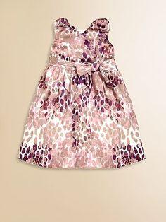 Pebble Print Holiday Dress