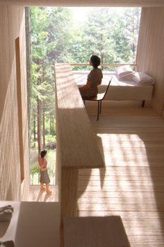 interior home decor Japan Architecture, Interior Architecture, Interior Design, Compact House, Japanese Interior, Cabin Homes, Modern Buildings, Architect Design, Interior Inspiration