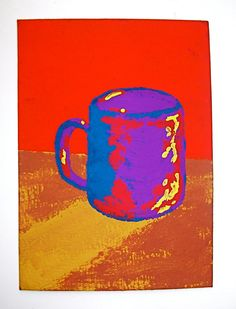 The Morning Cup of Coffee 103 ARTIST TRADING CARDS by MikeKrausArt