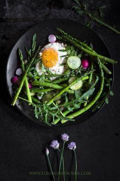 Szparagi na koniec sezonu. Last asparagus.