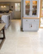Dijon Brushed limestone available in large and small floor tile sizes for inside and outside. Order your FREE sample of Dijon Brushed limestone tiles today! Limestone Flooring, Natural Stone Flooring, Kitchen Tiles, Kitchen Flooring, Large Floor Tiles, Tiled Hallway, Country Kitchen Designs, Living Room Flooring, Stone Tiles