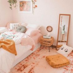 room makeover bedroom 36 About IKEA Bedroom Makeov - roommakeover Cute Bedroom Ideas, Cute Room Decor, Bedroom Inspo, Wall Decor, Aesthetic Room Decor, Stylish Bedroom, Bedroom Colors, New Room, House Rooms