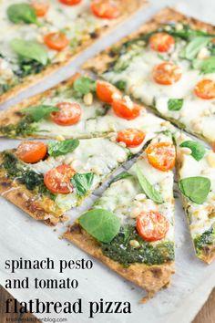 Pesto pizza, Tomato pesto and Roasted tomatoes on Pinterest