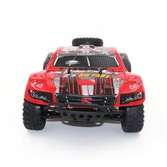 87.40$  Watch now - http://alilzk.worldwells.pw/go.php?t=32738554089 - RC Short Course Truck 1/16 2.4G 4WD High Speed High Intensity Magnetic Motor Brush RC SUV 1621 Remote Control Car Toys VS 9115