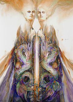 artist Helena Nelson-Reed  http://www.helenanelsonreed.com/