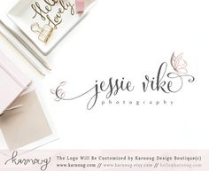 Butterfly LogoButterfly Logo DesignPhotography LogoBoutique