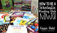 Educator Cassie Dahl has some terrific tips on building your Scholastic Reading Club orders! (Thanks for sharing your ideas!)