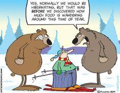 Tundra Comics, by Wasilla artist Chad Carpenter, famed Alaskan cartoonist (and a great artist!)