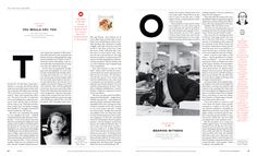 Editorial Layout, Editorial Design, Typography Magazine, New York Times Magazine, Magazine Layout Design, Grid Layouts, Publication Design, Print Layout, Layout Inspiration