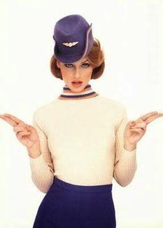World stewardess Crews: Flight attendant in Vintage