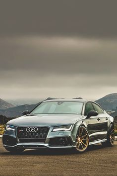 RS 7... Quite aggressive looking for an Audi.