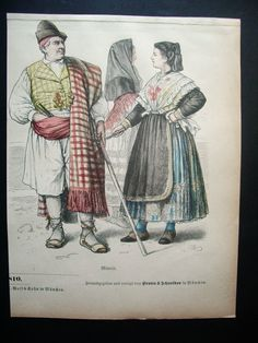 1878-TRAJES TIPICOS DE MURCIA. ORIGINAL